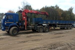 Манипулятор 20 тонн аренда в москве
