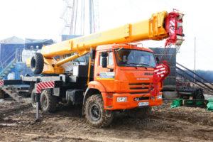 Закзать кран 25 тонн вездеход 6х6