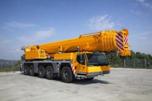 Аренда автокрана либхер 180 тонн