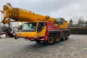 Аренда автокрана либхео 70 тонн